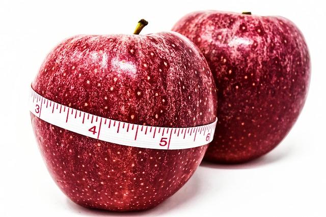 jablka s metrem